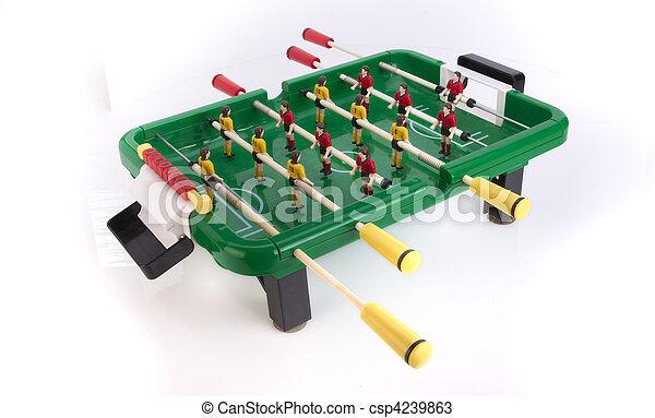 Stock Photos of Table football / foosball soccer csp4239863 ...