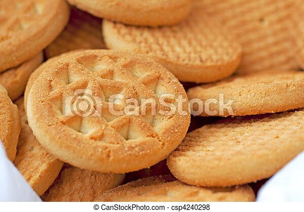 Biscuits - csp4240298