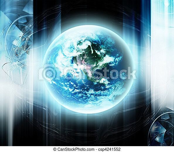 Futuristic technology - csp4241552