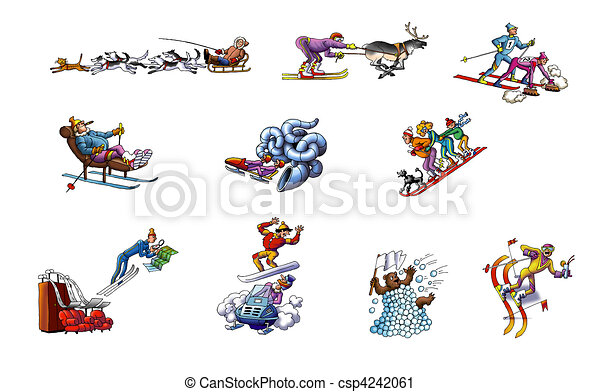 Winter sport Clipart and Stock Illustrations. 21,261 Winter sport ...