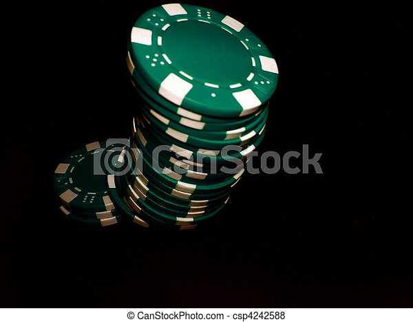 Poker Chips Green