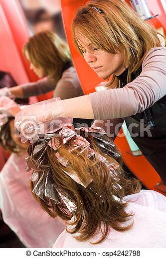Hair-stylist - csp4242798