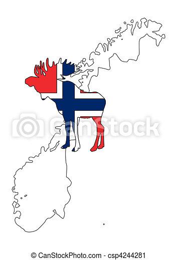 Norwegian moose - csp4244281