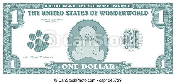 Fake money - csp4245739