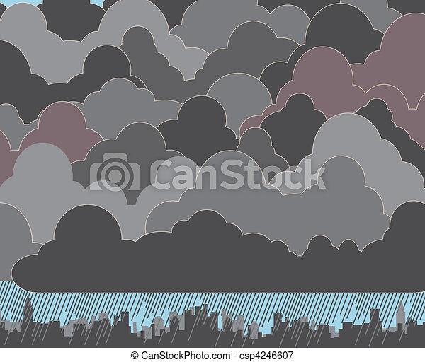 Cloudy - csp4246607