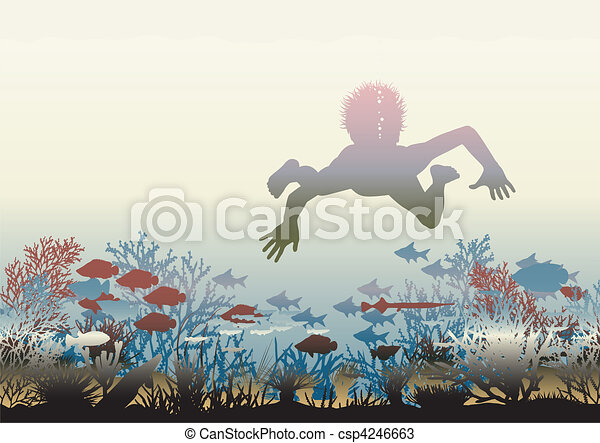 Coral discovery - csp4246663