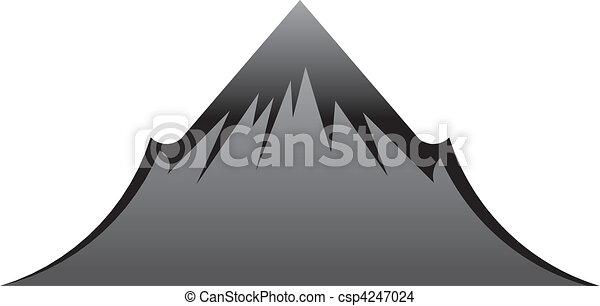 Black mountain - csp4247024