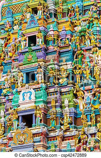 Hindu Temple Sri Lanka - csp42472889