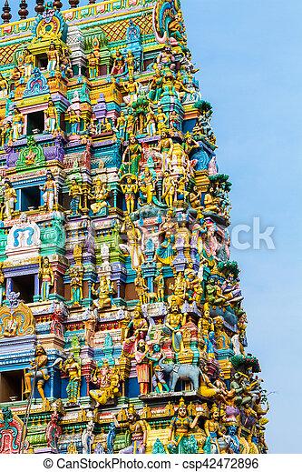 Hindu Temple Sri Lanka - csp42472896