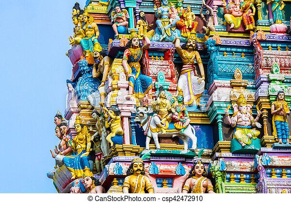 Hindu Temple Sri Lanka - csp42472910