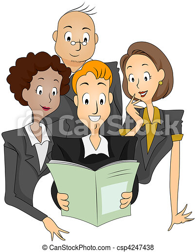 Stock Illustration - Company Newsletter - stock illustration, royalty ...