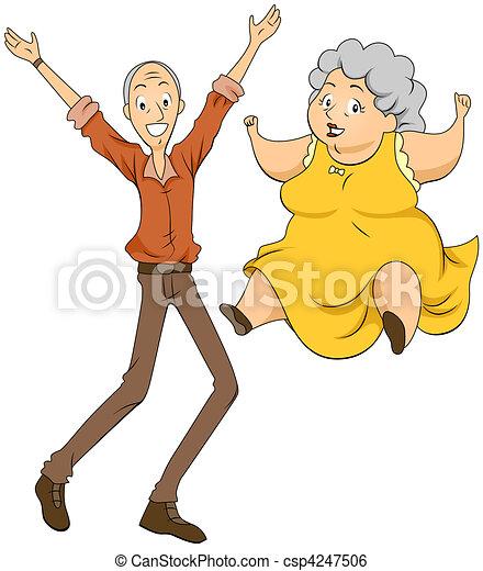 Grandparents - csp4247506