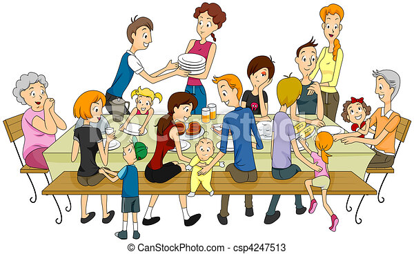 Family Illustrations and Clipart. 164,284 Family royalty free ...