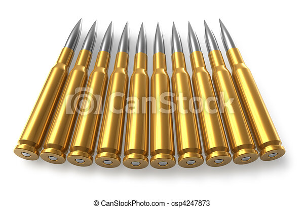 Sniper Bullet Drawing Bullets For Sniper Rifle