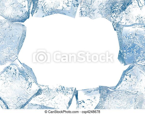 Ice frame - csp4248678