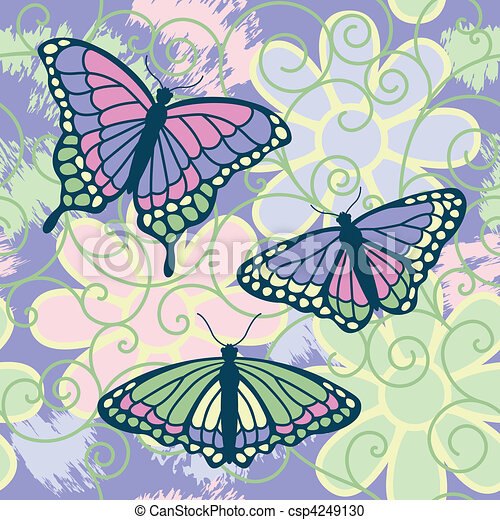 Butterflies Are Free - csp4249130