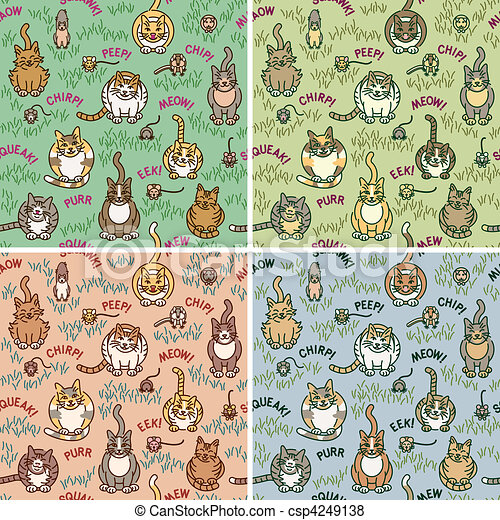 Cats and Critters - csp4249138