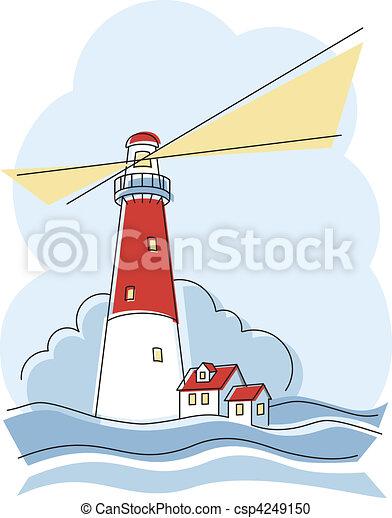 Classic Lighthouse - csp4249150