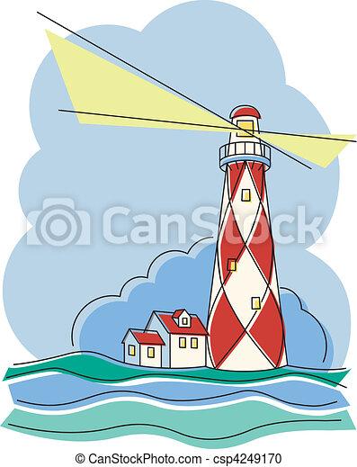 Diamond Lighthouse - csp4249170