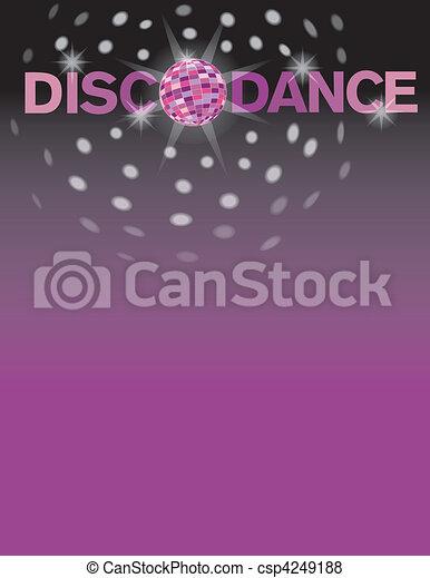 Disco Dance - csp4249188