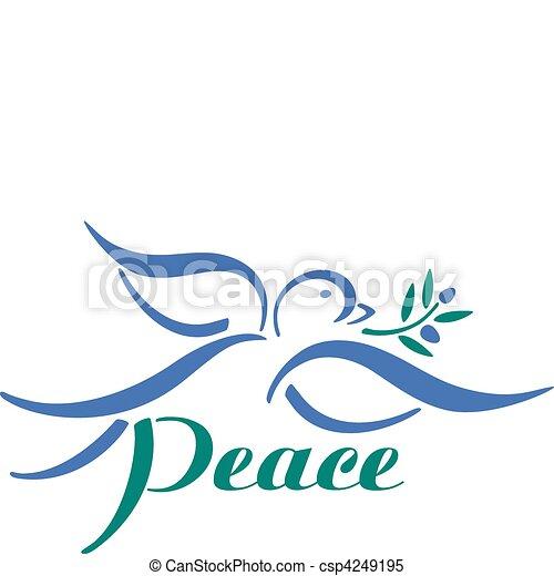 Dove Peace - csp4249195