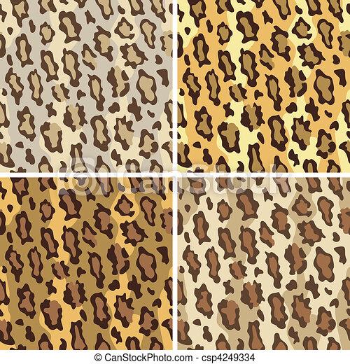 Leopard Spots Pattern_Tame - csp4249334