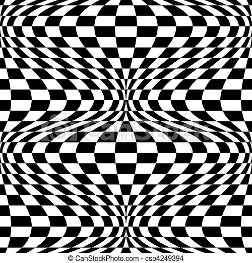 Op Art Background  - csp4249394