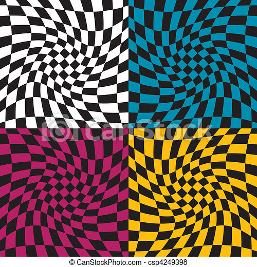 Op Art Pattern  - csp4249398