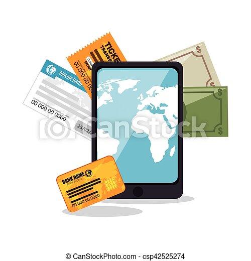buy online travel tickets - csp42525274