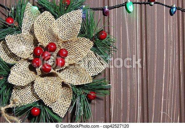 Christmas background - csp42527120