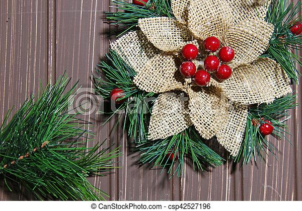 Christmas background - csp42527196