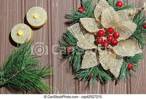 Christmas background - csp42527215