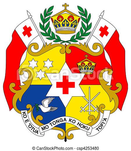 Tonga Coat of Arms - csp4253480