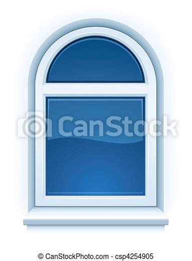 Íves műanyag ablak