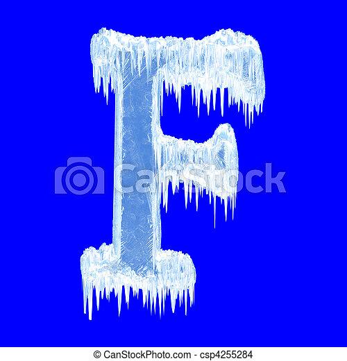 Icing alphabet