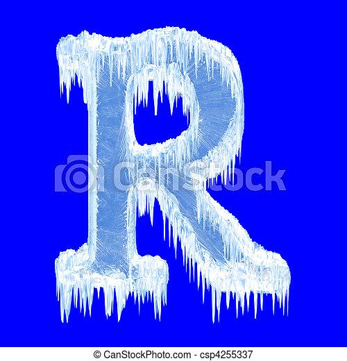 R Alphabet Animation Icing alphabet  Letter R