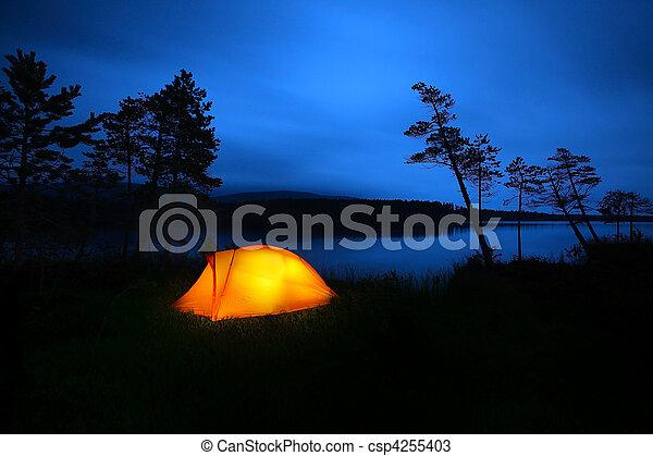 Camping - csp4255403