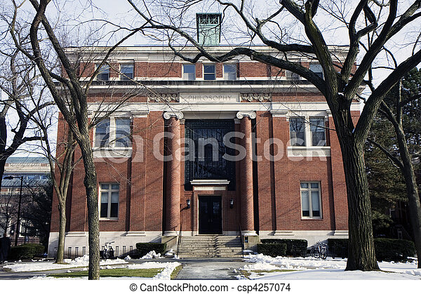 Harvard building - csp4257074