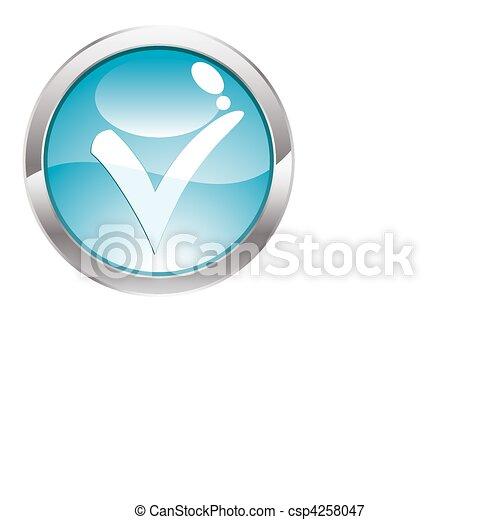 Gloss Button - csp4258047