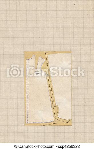 Fashion Design Pattern Paper hand drawn fashion pattern