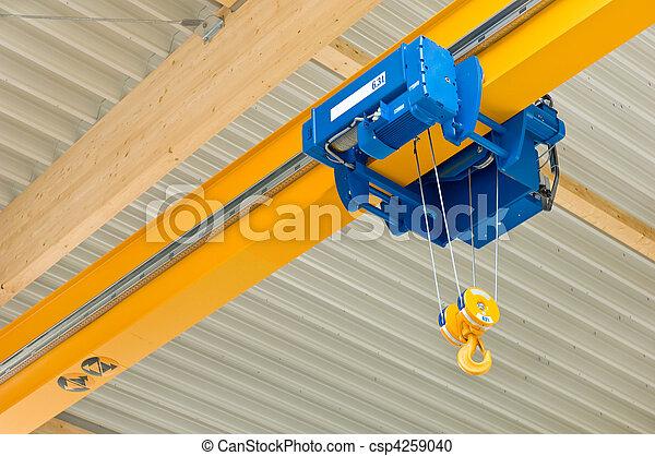 Hall crane - csp4259040