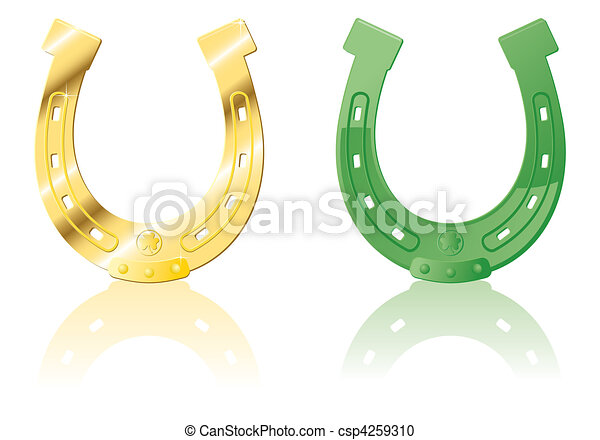 Set Horseshoe - csp4259310