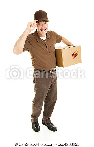 Friendly Delivery - Full Body - csp4260255