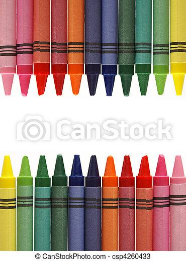 Crayon Frame - csp4260433