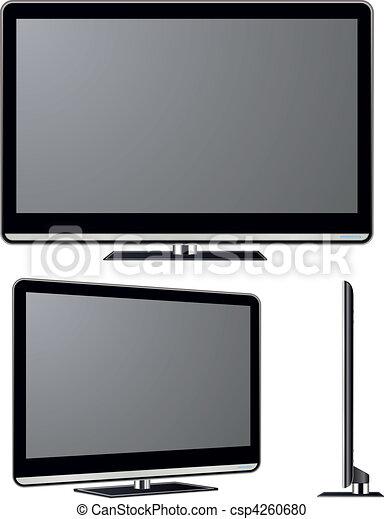 Television vector set - csp4260680