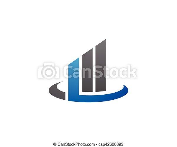 Business Finance Logo - csp42608893