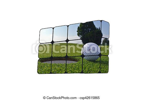 sostenible, cubos, crecimiento, concept:, mano - csp42615865