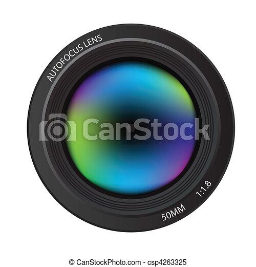 Camera lens - csp4263325