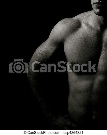 Muscular man - csp4264321