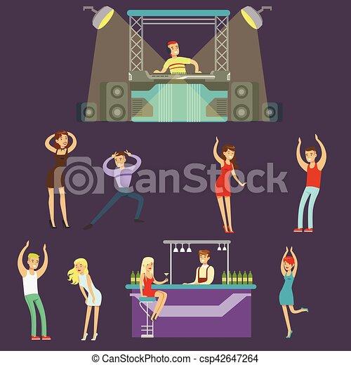Clip art vecteur de barre gens club danse jeune for Musique barre danse classique gratuite